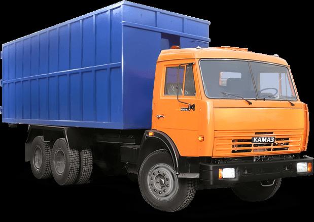 Камаз МСК-16 с контейнером 27 кубических метров
